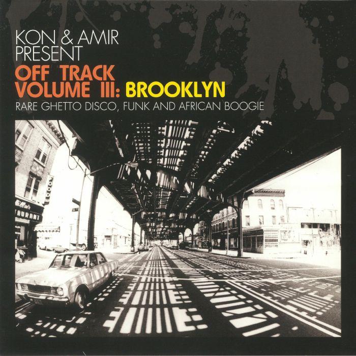 KON & AMIR/VARIOUS - Off Track Volume III: Brooklyn