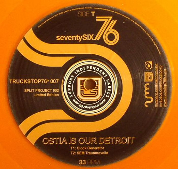 VALERIOMANIA/SEVENSTYSIX - Ostia Is Our Detroit