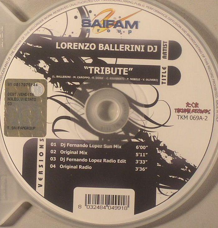 LORENZO BALLERINI DJ/RAMDAC - Tribute
