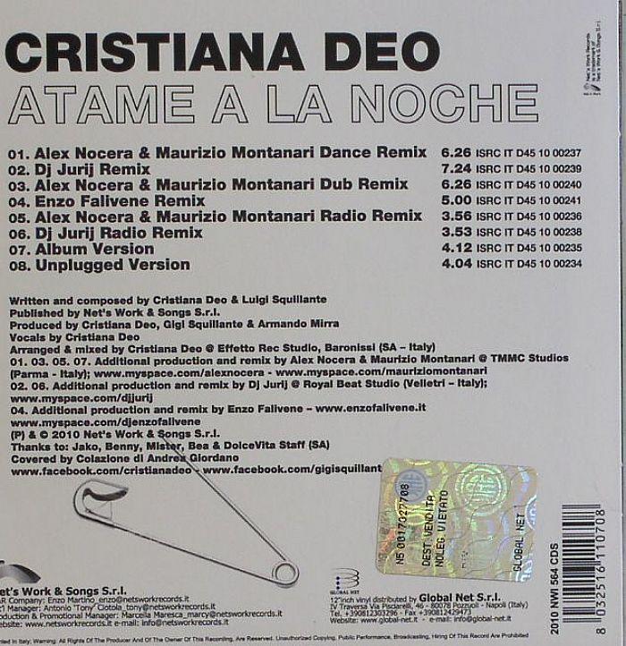 DEO, Cristiana - Atame A La Noche