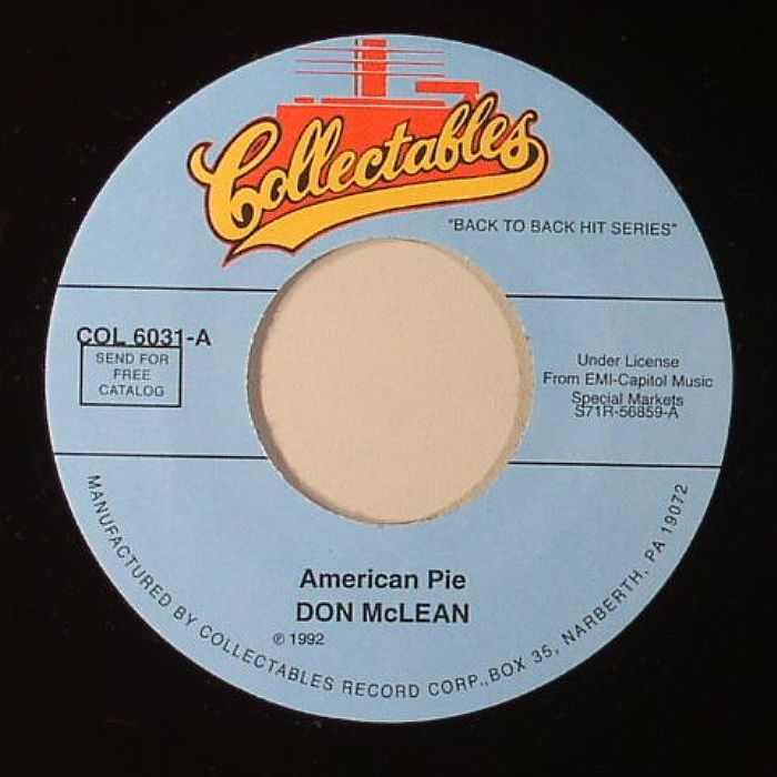 american pie by don mc lean essay 'american pie' singer don mclean pleads guilty to domestic violence charges against his estranged wife with legal papers citing adultery 'american pie' singer don mclean and wife finalize divorce.