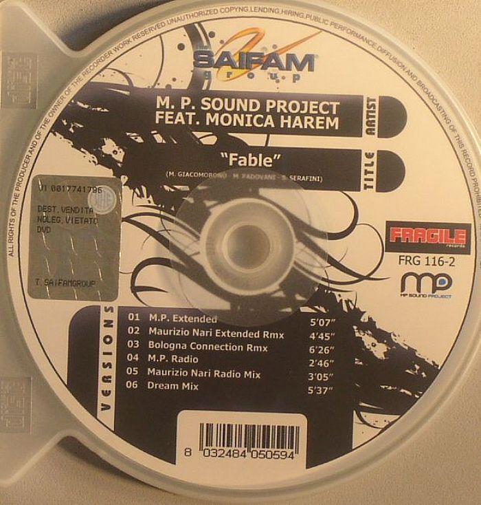 MP SOUND PROJECT feat MONICA HAREM - Fable