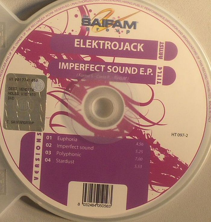 ELEKTROJACK - Imperfect Sound EP