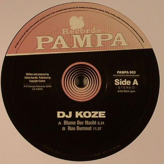 DJ KOZE - Blume Der Nacht/Rue Burnout