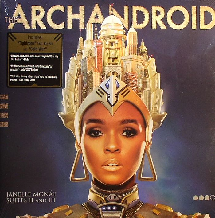 Janelle Monae The Archandroid Vinyl At Juno Records