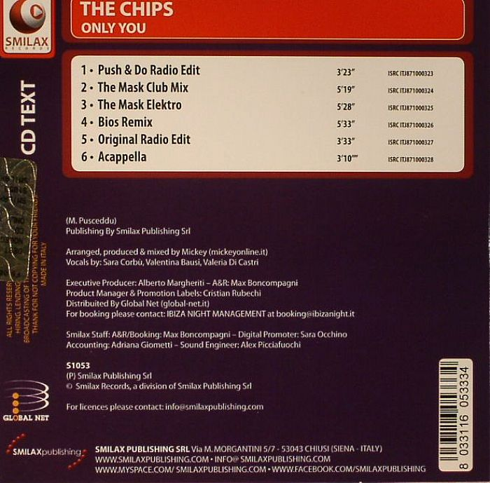 CHIPS, The - Only You