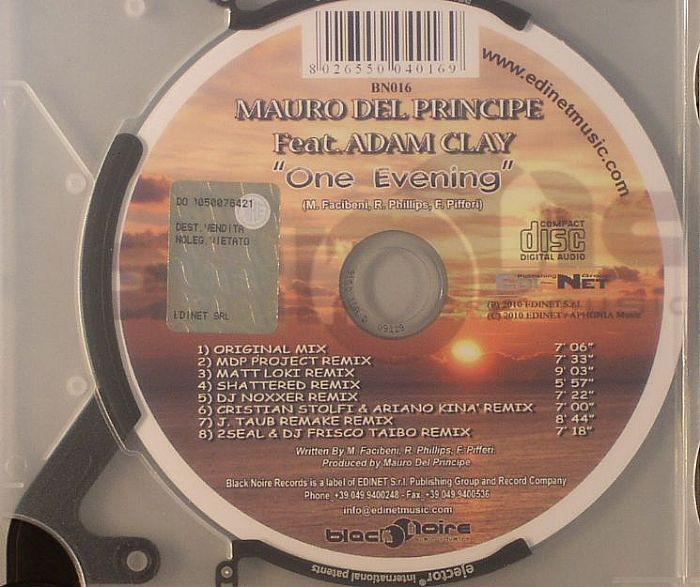 DEL PRINCIPE, Mauro feat ADAM CLAY - One Evening