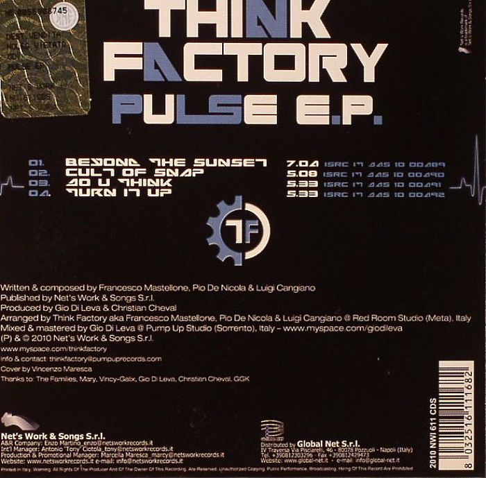 THINK FACTORY - Pulse EP