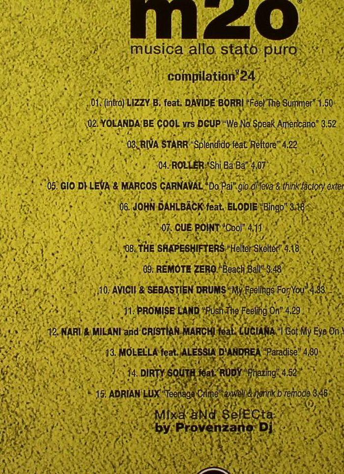DJ PROVENZANO/VARIOUS - M20 Musica Allo Stato Puro Vol 24