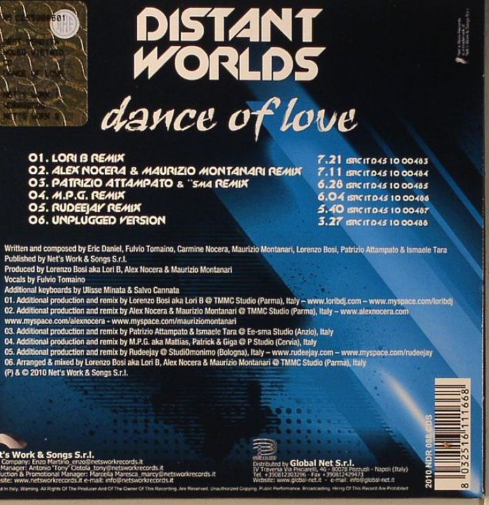 DISTANT WORLDS - Dance Of Love