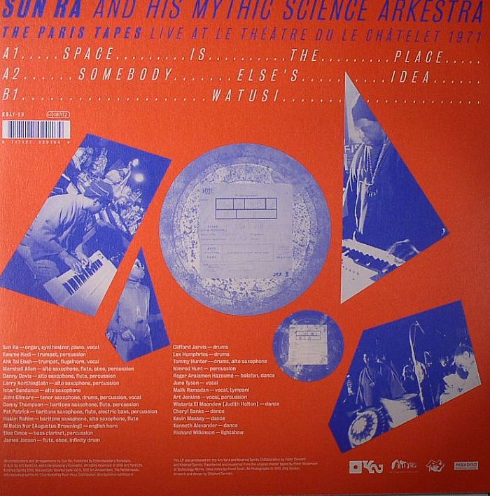 Sun Ra Live In Paris At The Gibus