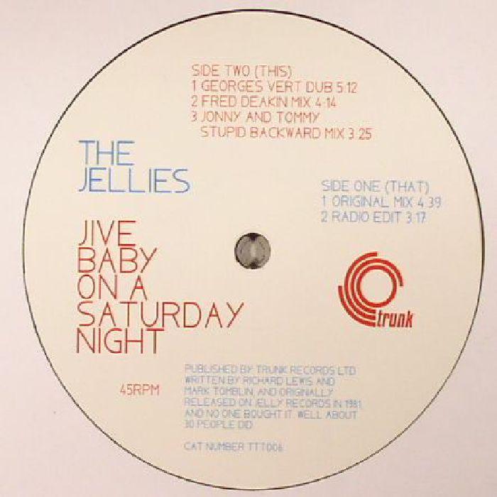 JELLIES, The - Jive Baby On A Saturday Night