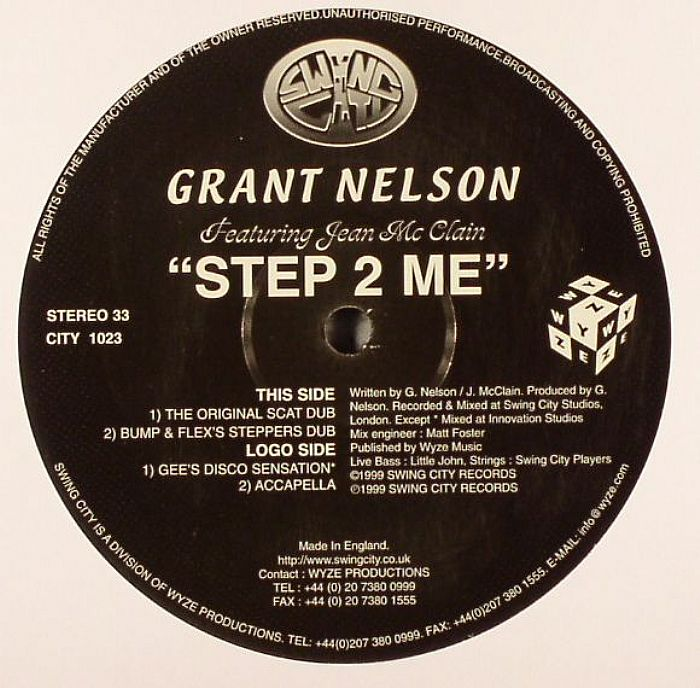 NELSON, Grant - Step 2 Me (warehouse find, slight sleeve wear)