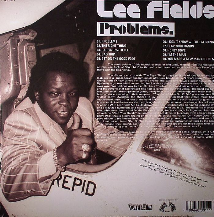 FIELDS, Lee - Problems