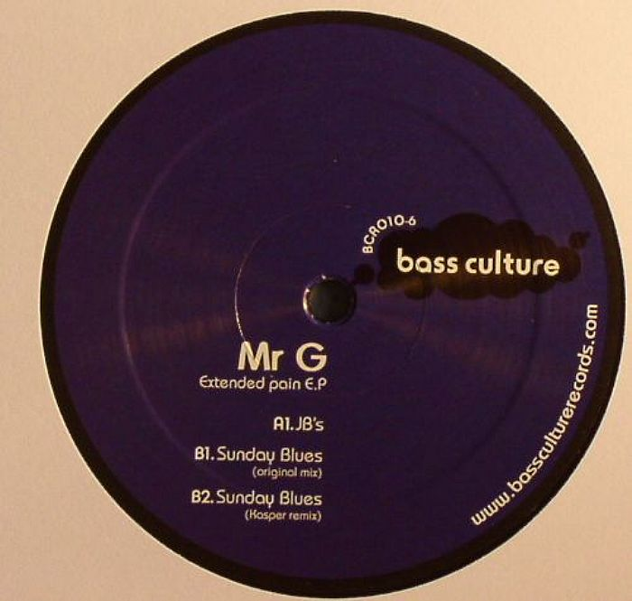 MR G - Extended Pain EP