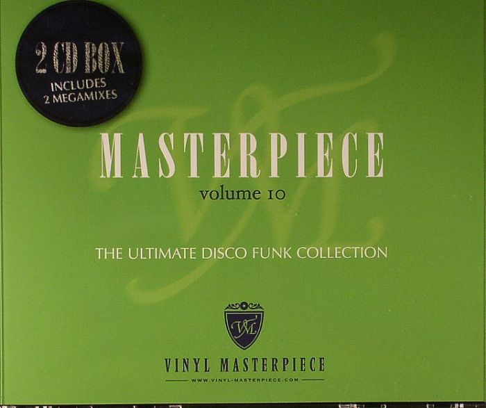VARIOUS - Masterpiece Volume 10: The Ultimate Disco Funk Collection