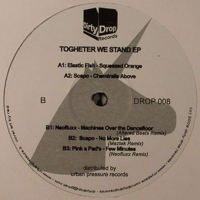 ELASTIC FISH/SCAPO/NEOFLUXX/PINK A PADS - Together We Stand EP
