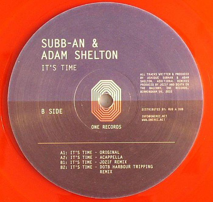 SUBB AN/ADAM SHELTON - It's Time