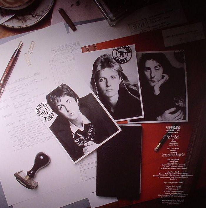 Paul McCARTNEY WINGS Band On The Run Vinyl At Juno Records