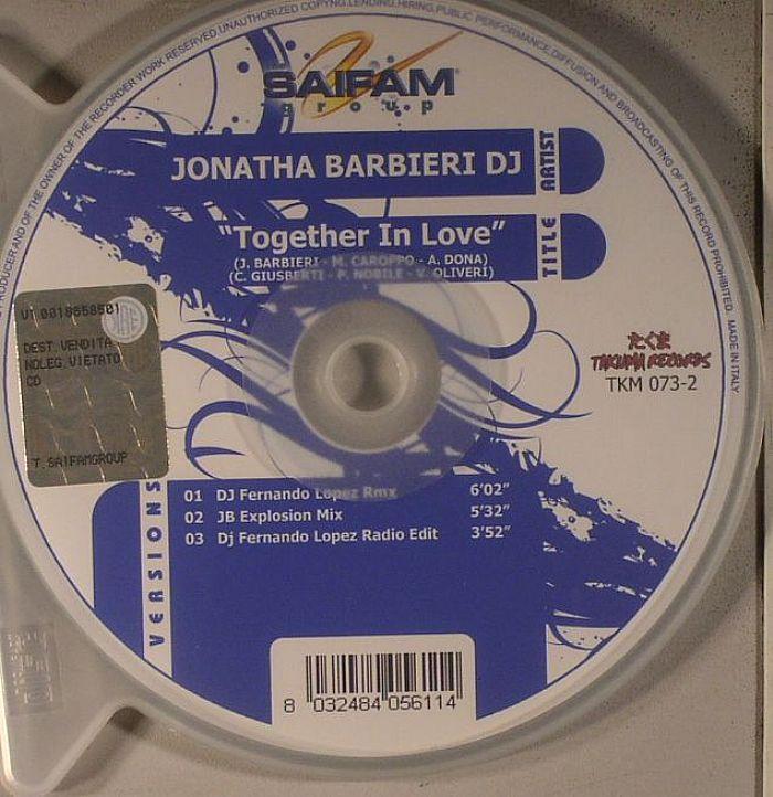 JONATHA BARBIERI DJ - Together In Love