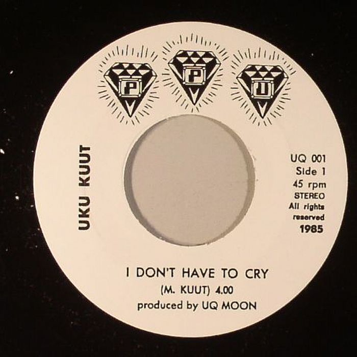 Uku Kuut You Don T Have To Cry Anymore Vinyl At Juno Records