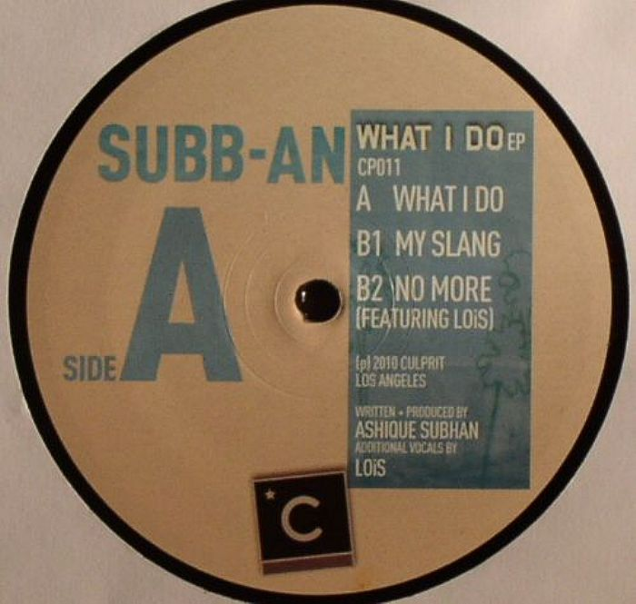 SUBB AN - What I Do EP