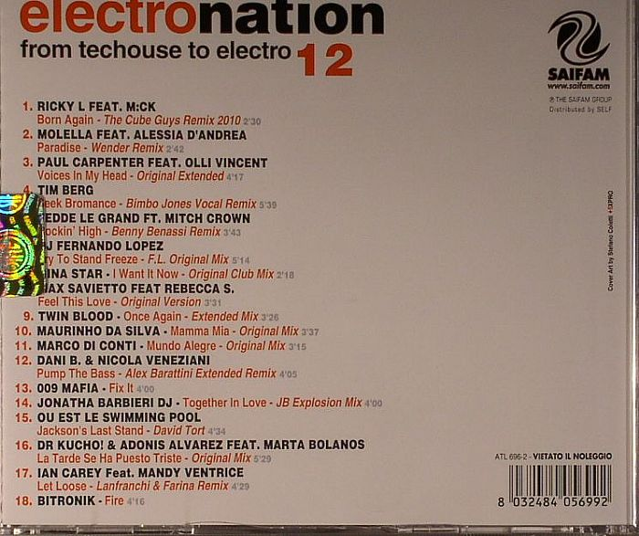 Various Electro Nation Vol 12 Vinyl At Juno Records