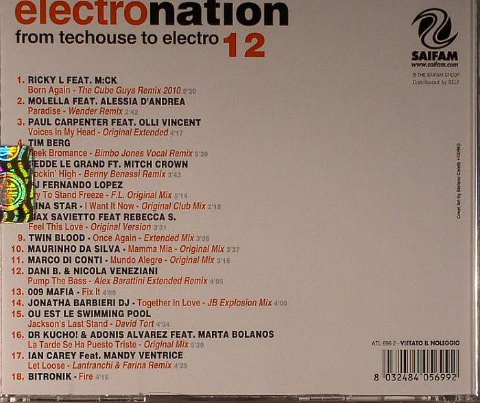 VARIOUS - Electro Nation Vol 12