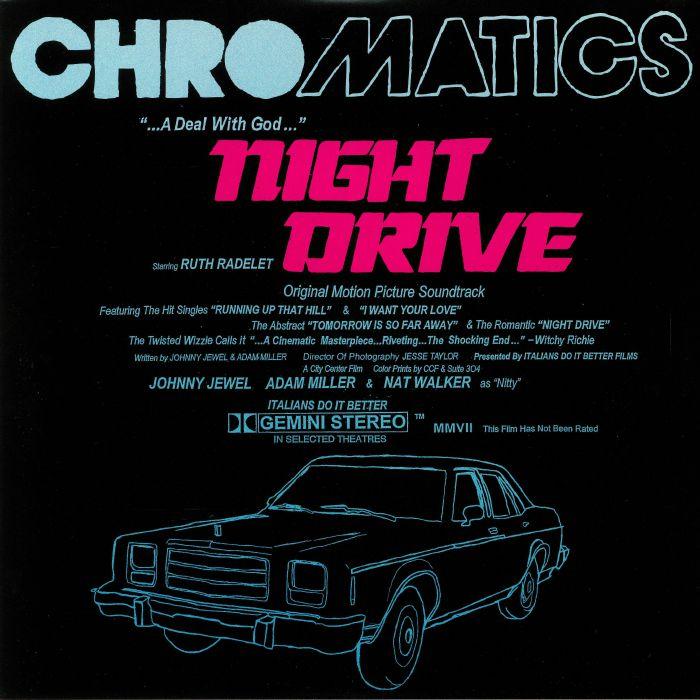 Chromatics Night Drive Soundtrack Deluxe Edition Vinyl