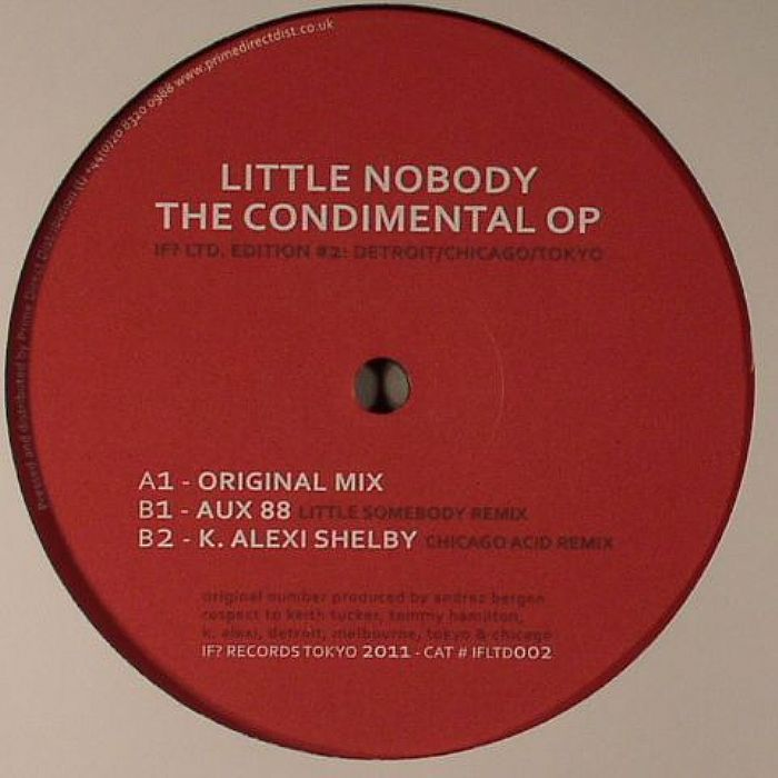 LITTLE NOBODY - The Condimental Op