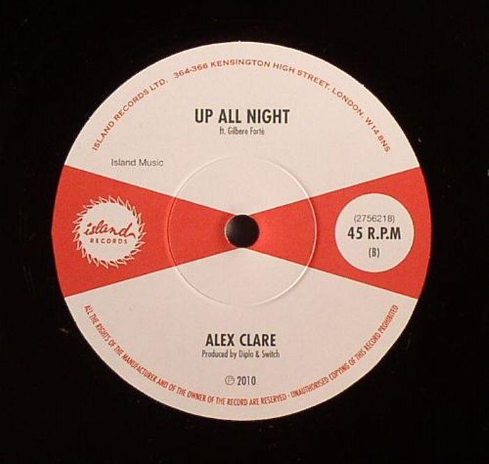 CLARE, Alex - Up All Night