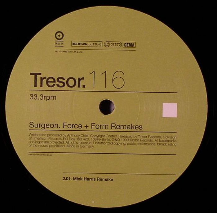 SURGEON - Force & Form Remakes