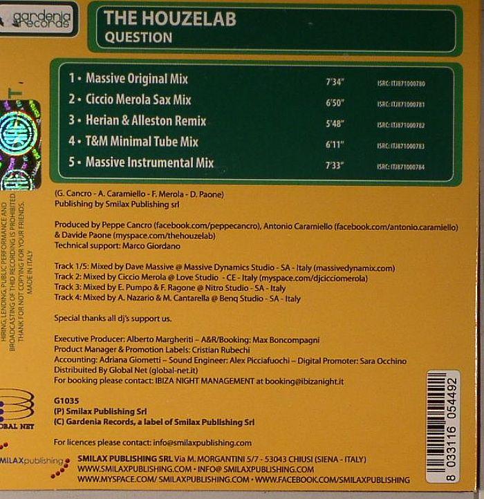 HOUZELAB, The - Question