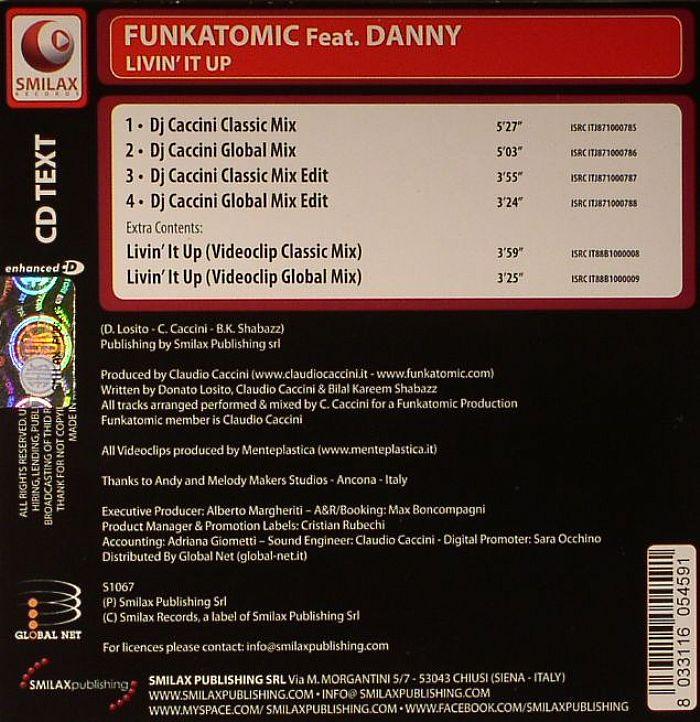 FUNKATOMIC feat DANNY - Livin It Up