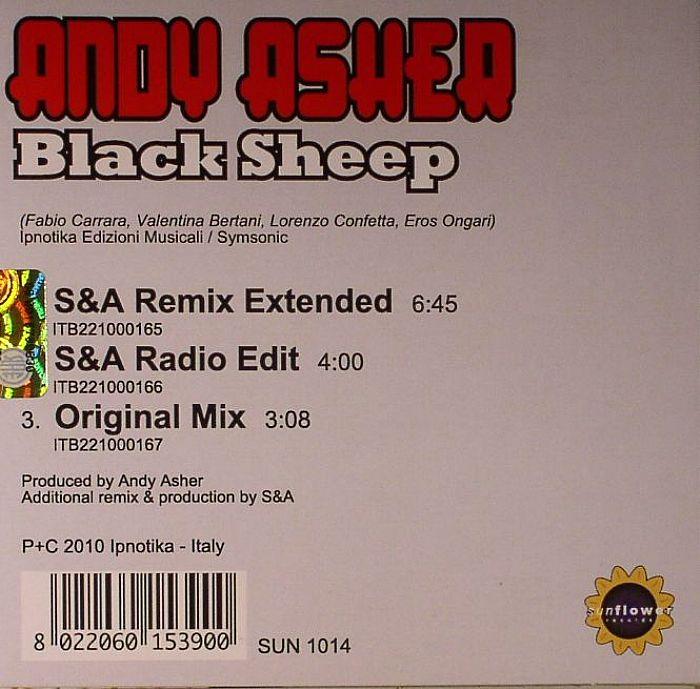 ASHER, Andy - Blak Sheep