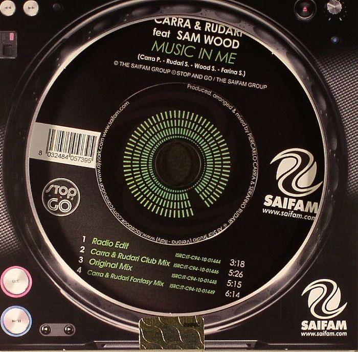 CARRA/RUDARI feat SAM WOOD - Music In Me