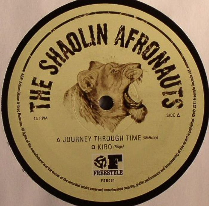 The Shaolin Afronauts Journey Through Time Vinyl At Juno
