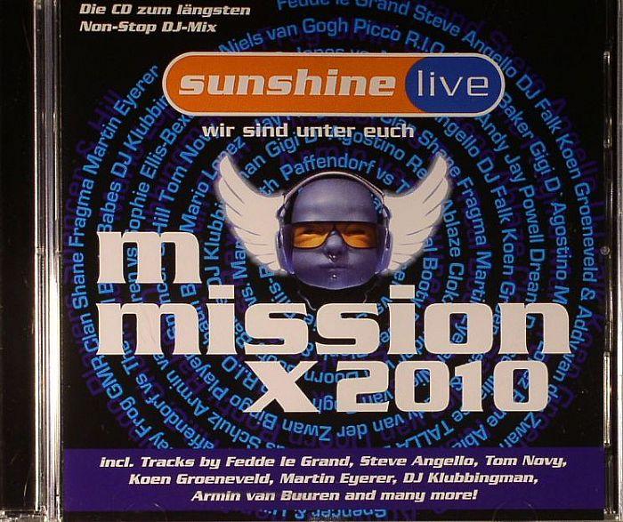 VARIOUS - Sunshine Live Mix Mission 2010