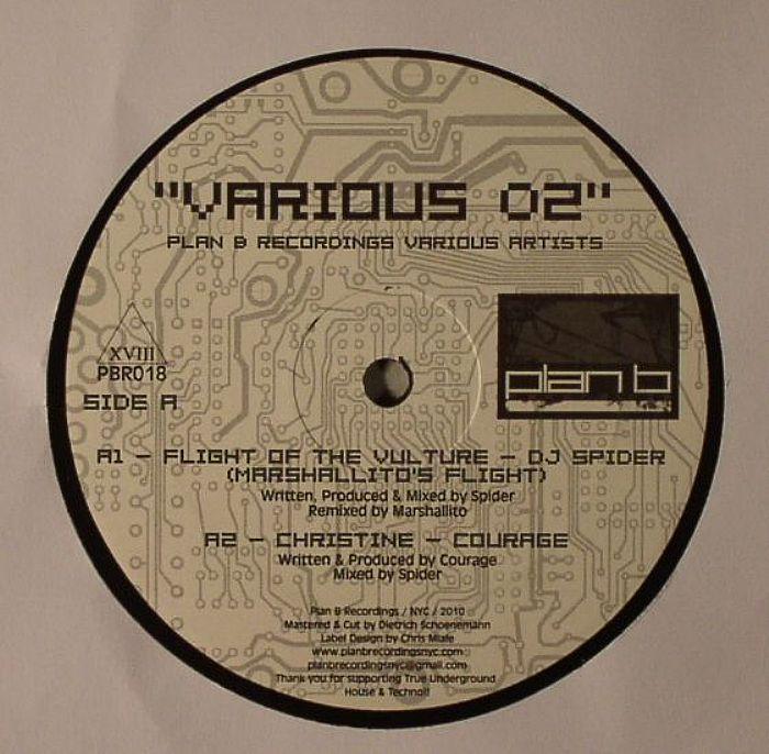 DJ SPIDER/COURAGE/DAKINI9/AMIR ALEXANDER - Plan B Recordings Various 02