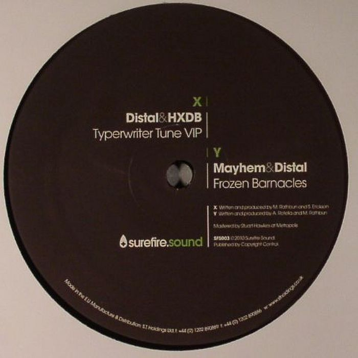 DISTAL/HXDB/MAYHEM - Typewriter Tune VIP