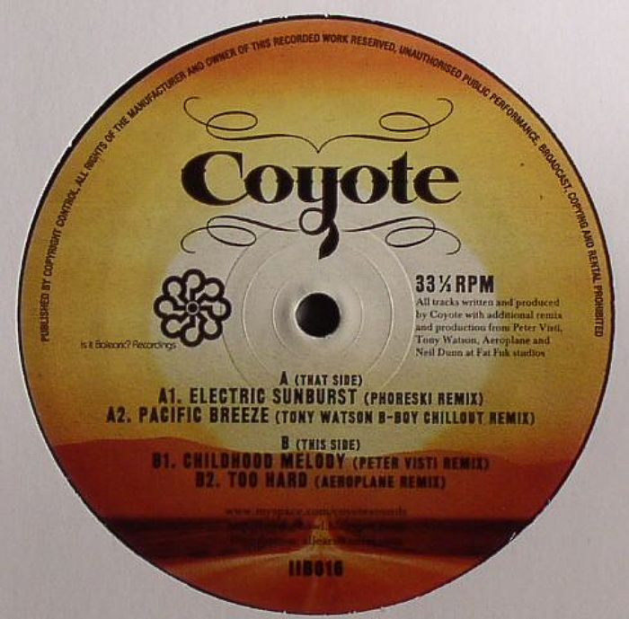 COYOTE - Electric Sunburst