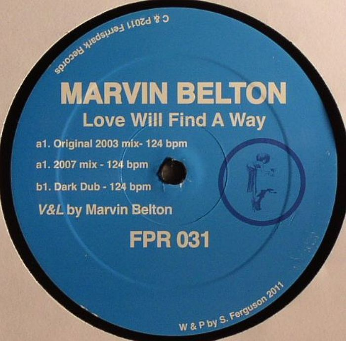 BELTON, Marvin - Love Will Find A Way