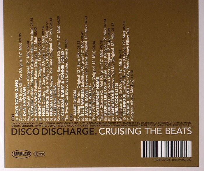 VARIOUS - Disco Discharge: Cruising The Beats