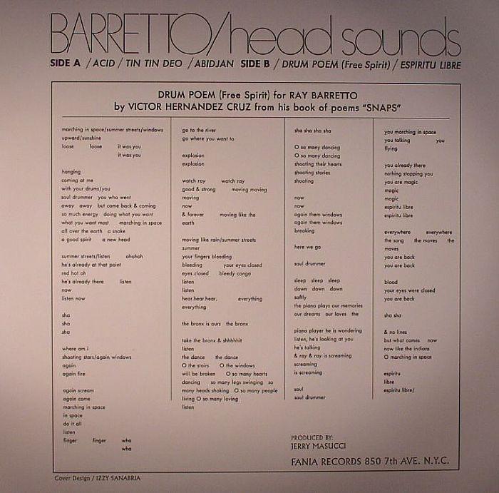 BARRETTO, Ray - Head Sounds