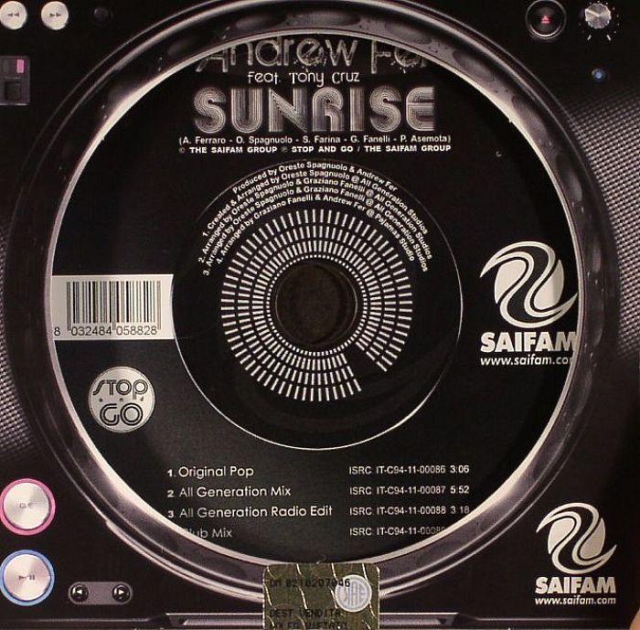 FER, Andrew feat TONY CRUZ - Sunrise