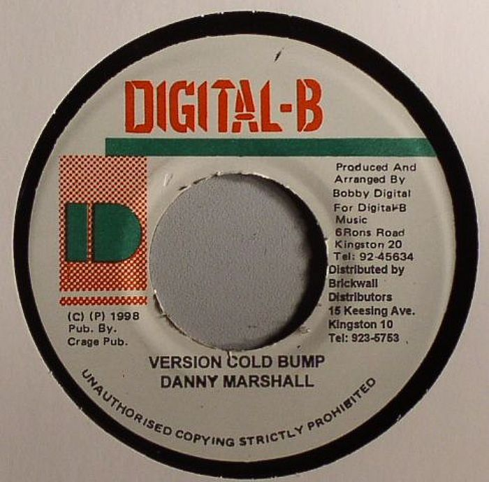 MURDACK/DANNY MARSHALL - How Yuh Living (Cold Bump Riddim)