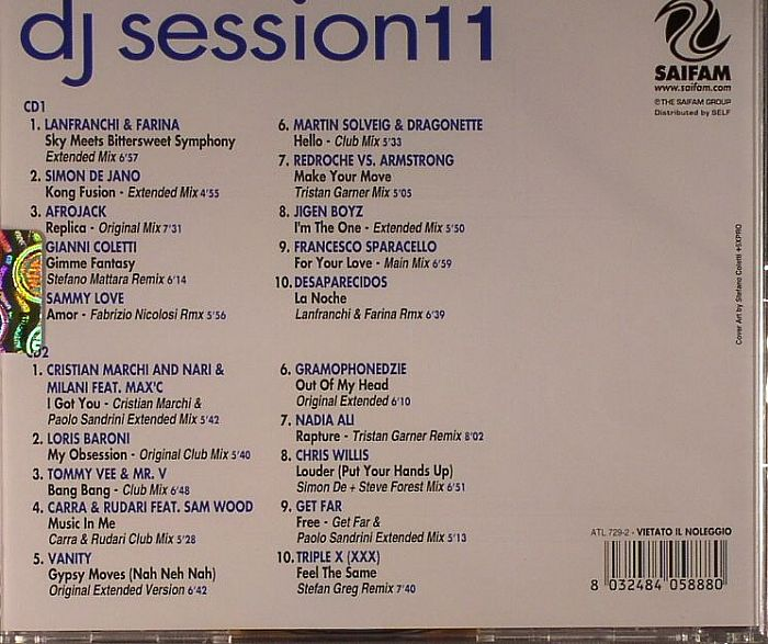 VARIOUS - DJ Session 11
