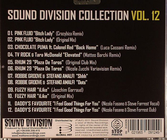 VARIOUS - Sound Division Collection Vol 12