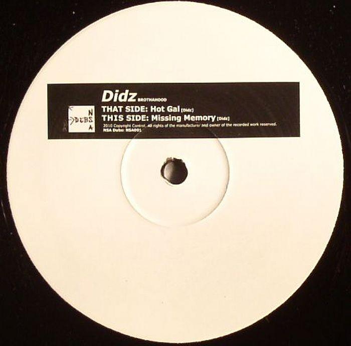 Didz - Missing Memory / Hot Gal
