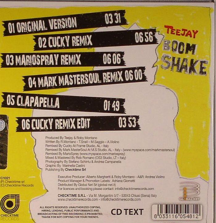 TEEJAY - Boom Shake